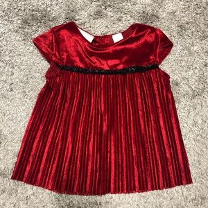 First impressions Christmas holiday dress 3-6 NWT